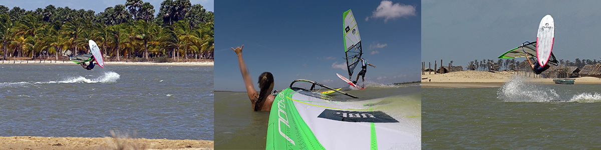 Windsurfing in Sri Lanka from Max Brinnich